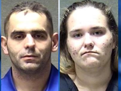 Couple accused of smoking meth in drive-thru at McDonald's
