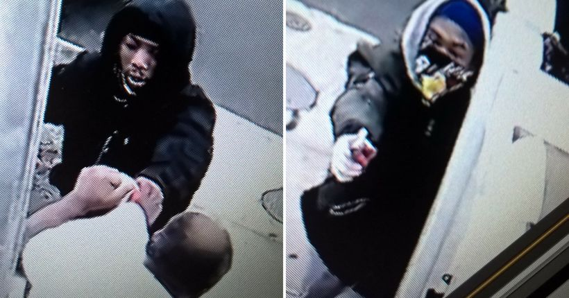Surveillance video shows would-be robbers shoot man protecting Queens home, child: police