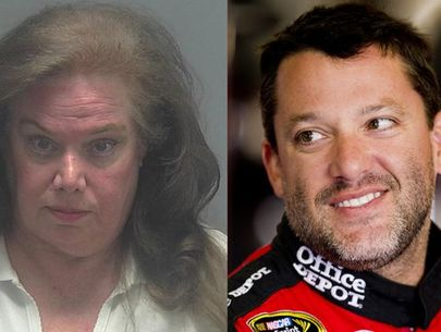 Woman accused of stalking Tony Stewart after autograph snub