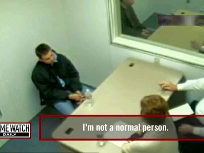 Interrogation video: Homeless man suspected in grisly murder of nurse