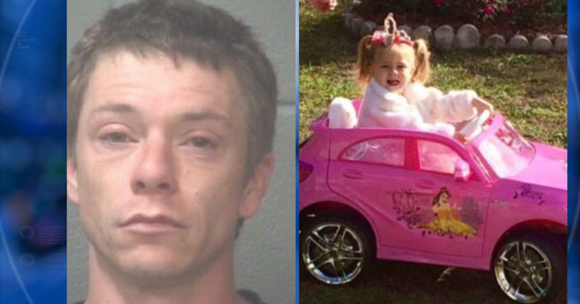 $1M bond set for man charged in 3-year-old N.C. girl's death