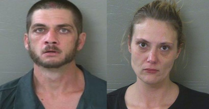 2 arrested, accused of leaving child alone without food, furniture for 2 months