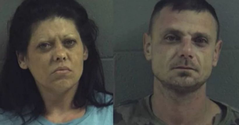 Parents arrested after their 3-year-old found freezing in woods