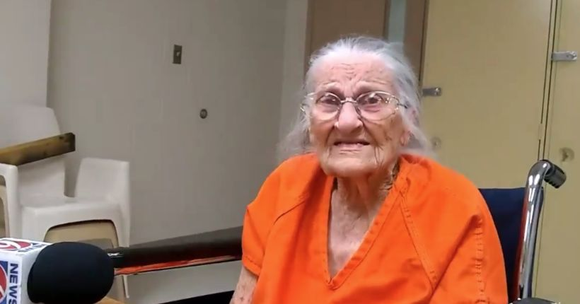 Woman, 93, arrested for not paying rent