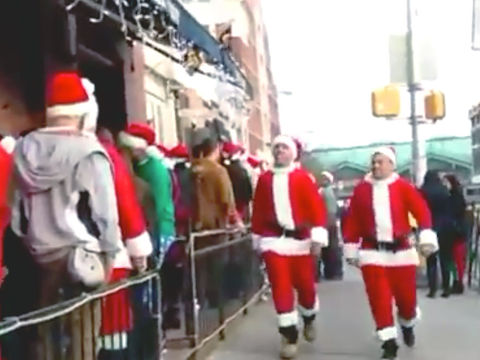 17 arrested during drunken, violent Hoboken SantaCon