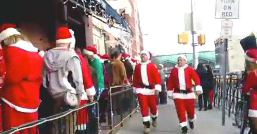 New Jersey naughty list: At least 17 arrested during drunken, violent Hoboken SantaCon