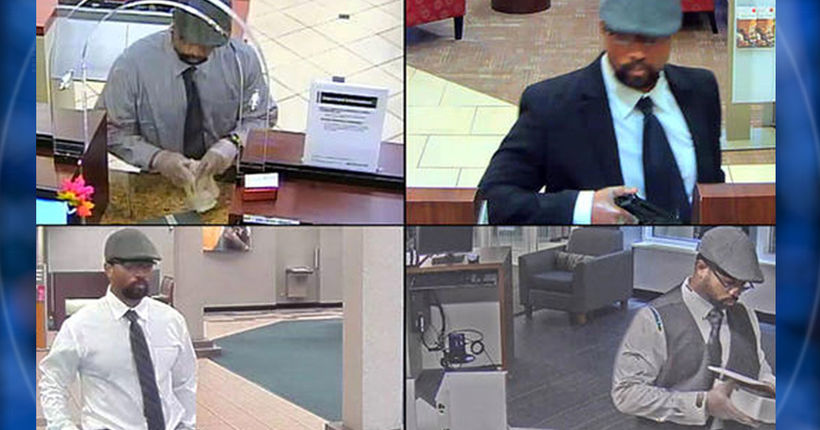 Dapper bank robbery suspect wanted in 4 South Florida heists: FBI