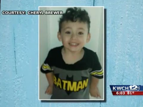 Mom testifies that boyfriend killed boy found dead in concrete