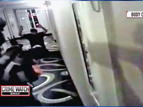 Controversy surrounds fatal police shooting in hotel hallway