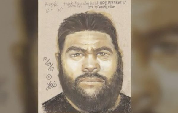 Sketch released of suspect accused of slitting man's throat while trying to kidnap victim's wife