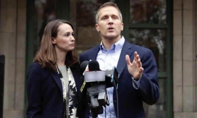 Missouri governor admits to extramarital affair, denies he blackmailed woman with nude photos