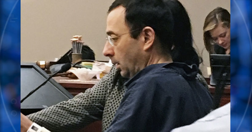 Sexual abuse victim to ex-doctor Nassar: 'You are a repulsive liar'