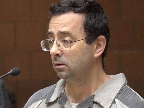 Nassar's final sentence: 40-125 more years in prison