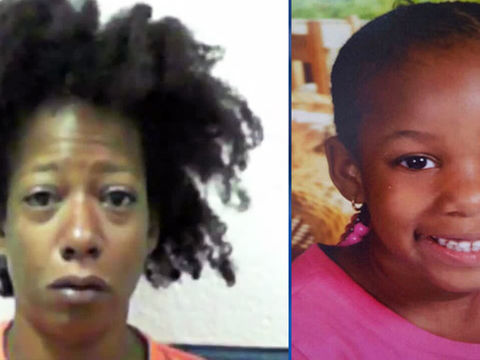 Woman found with daughter's body charged with murder, abuse