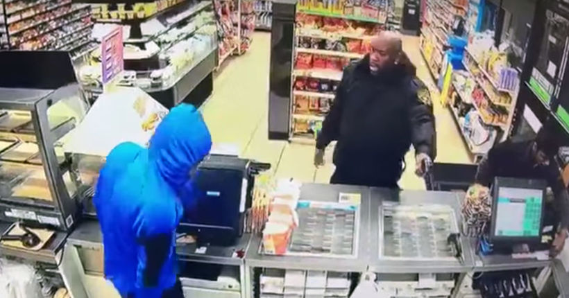 'Mine's Real': Viral video show security guard shooting 2 would-be robbers