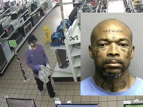 Man with Social Security number tattoo allegedly strikes again, in disguise