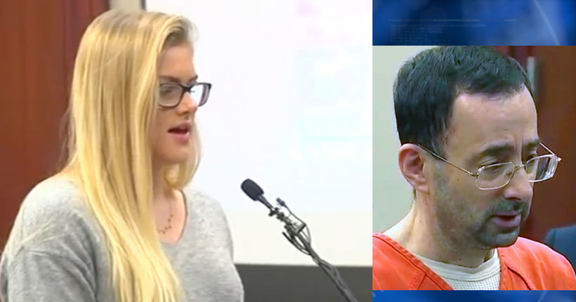 Former gymnast says brother was also a victim of Larry Nassar