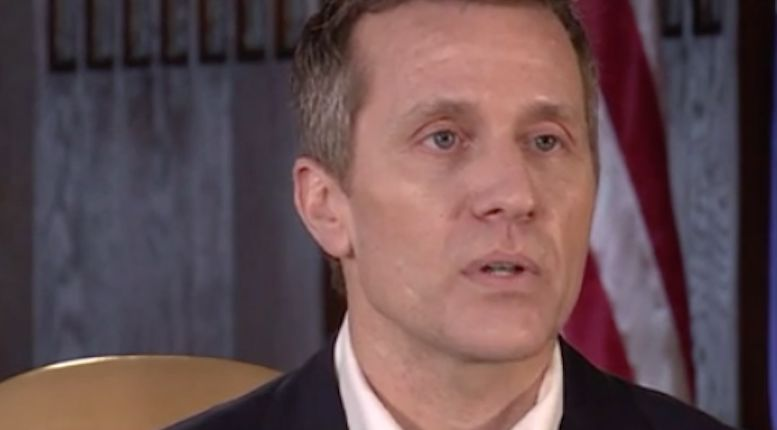 'No blackmail, nothing to investigate,' Missouri governor explains