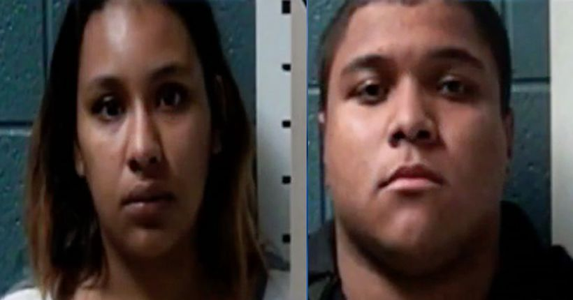Newborn allegedly abused by parents dies