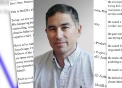 Northwestern journalism professor accused of inappropriate behavior