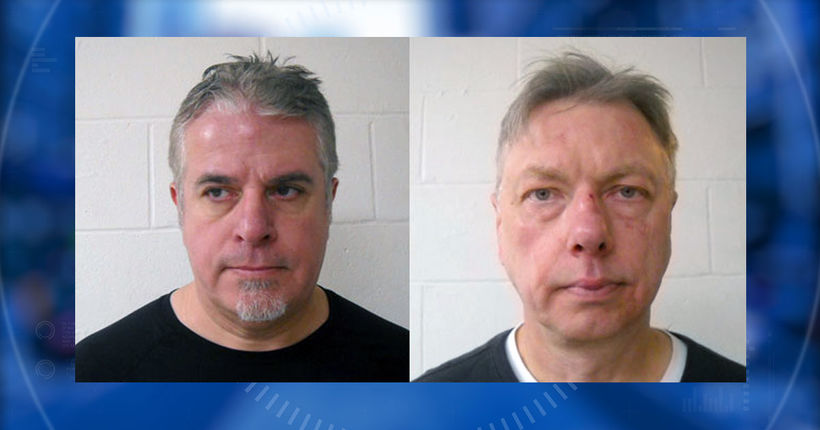Two men arrested after fight with ax over snow plowing