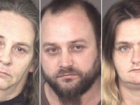 Man, girlfriend, mom accused of beating elderly neighbor