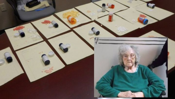'King Pin Granny' arrested in major drug deal bust, officers say
