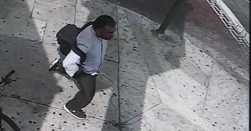 Police seeking public's help IDing man who violently struck 85-year-old woman in Koreatown
