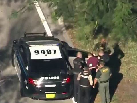Florida school shooter in custody; 17 dead