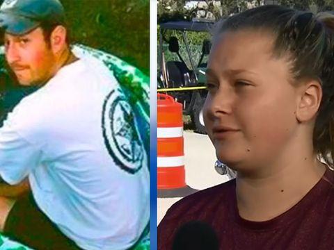 Student describes hearing her teacher being fatally shot