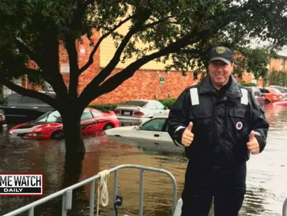 Cop rescues hundreds from hurricane in spite of Stage 4 cancer