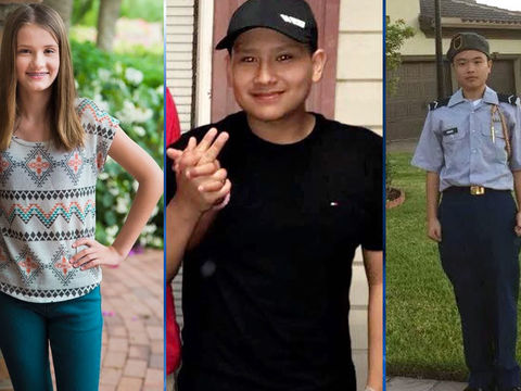 Army awards medals to 3 Junior ROTC students killed in Parkland shooting