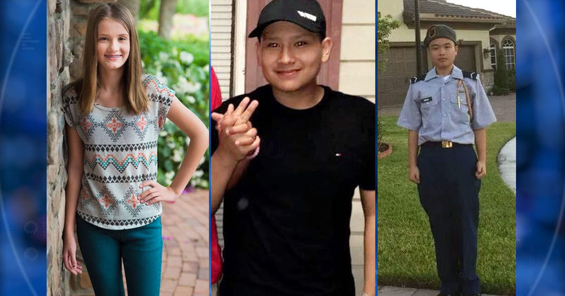 Army awards medals to 3 Junior ROTC students killed in Florida school shooting