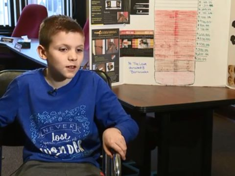 10-year-old raising money for door barricades after Florida shooting