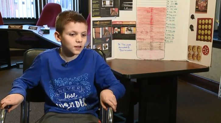 10-year-old raising money for door barricades after Florida school shooting