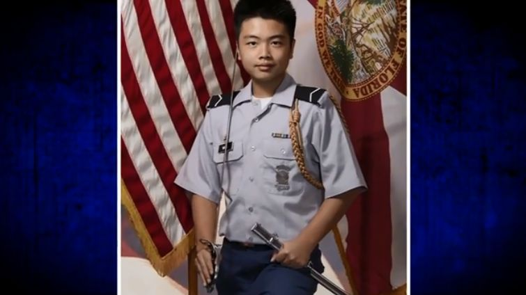 West Point posthumously admits Florida school shooting victim Peter Wang