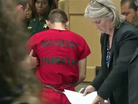 Accused Florida shooter refused help