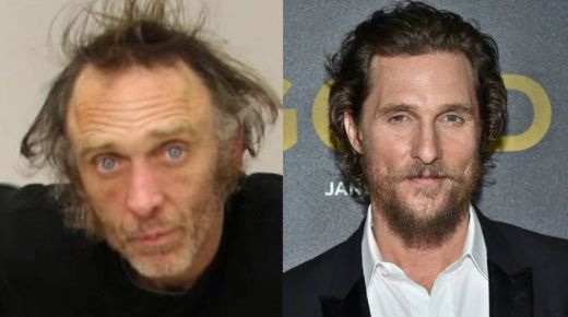 Suspected car thief tells officers he's Matthew McConaughey