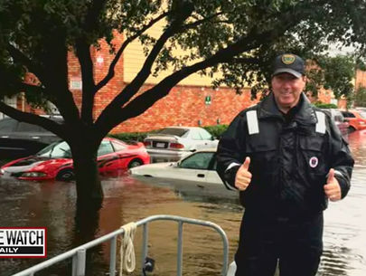 Officer who rescued hundreds from Hurricane Harvey despite cancer, dies