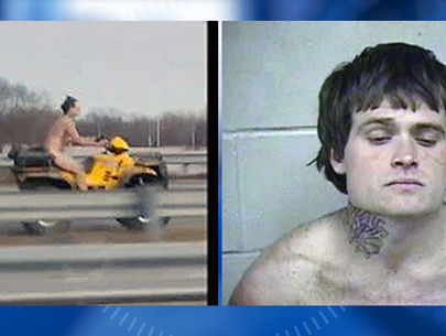Naked ATV rider who fled police through Kansas City faces multiple charges