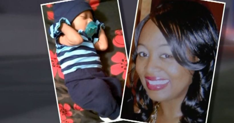 Woman, newborn son killed by suspected drunk driver