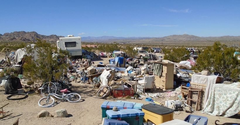 Joshua Tree couple arrested after 3 children found living in plywood box for years