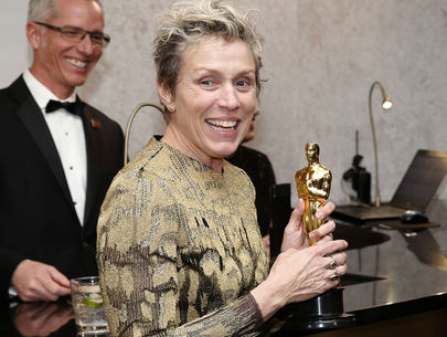 Man arrested after allegedly stealing Frances McDormand's Oscar