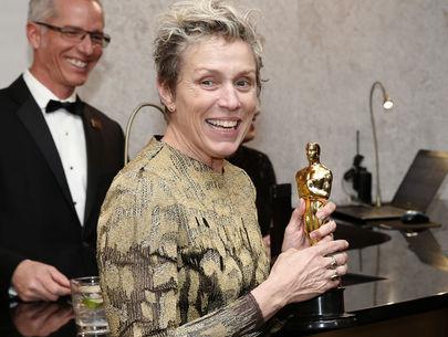 Man arrested after allegedly stealing Frances McDormand's Oscar