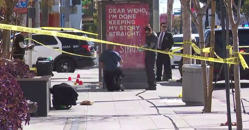 Man stabbed to death in W. Hollywood, assailant at large: Sheriff
