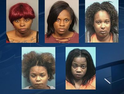 Five women arrested for role in nationwide Walmart scam