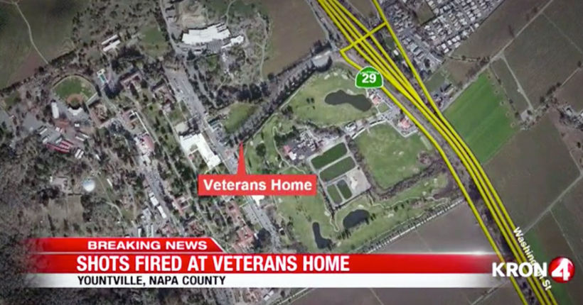 CHP: Shooter takes 3 people hostage at veterans home in Yountville