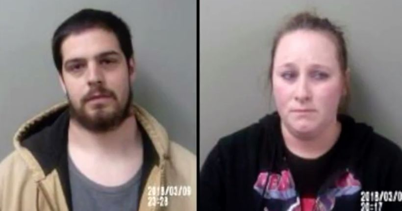 Man, woman charged with abusing 9-year-old girl, frequently hitting her with ax
