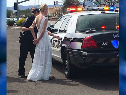 Woman en route to wedding arrested for DUI in Tucson