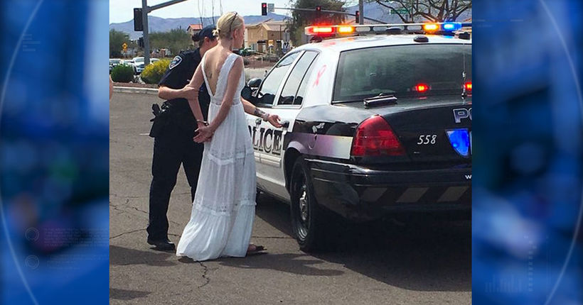 Woman en route to wedding arrested for DUI in Marana